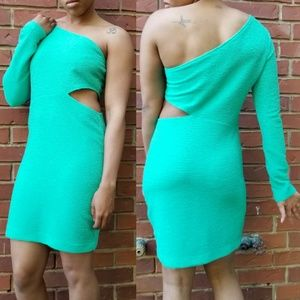 BCBGeneration Dresses - NWT Mint Bodycon Ruched Dress